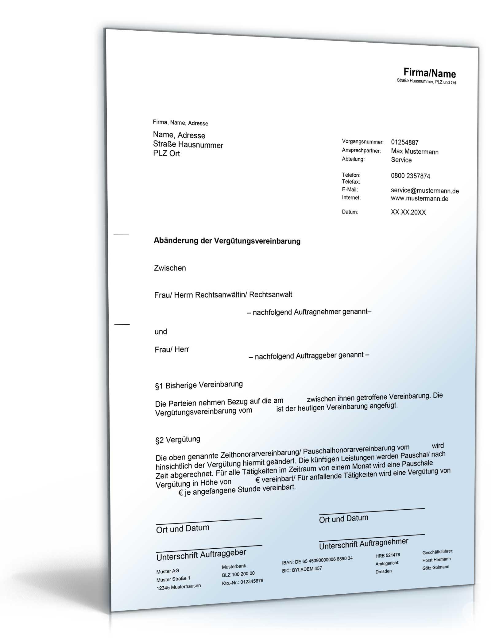 Download Archiv Musterbriefe Kostenlos Dokumente Vorlagen