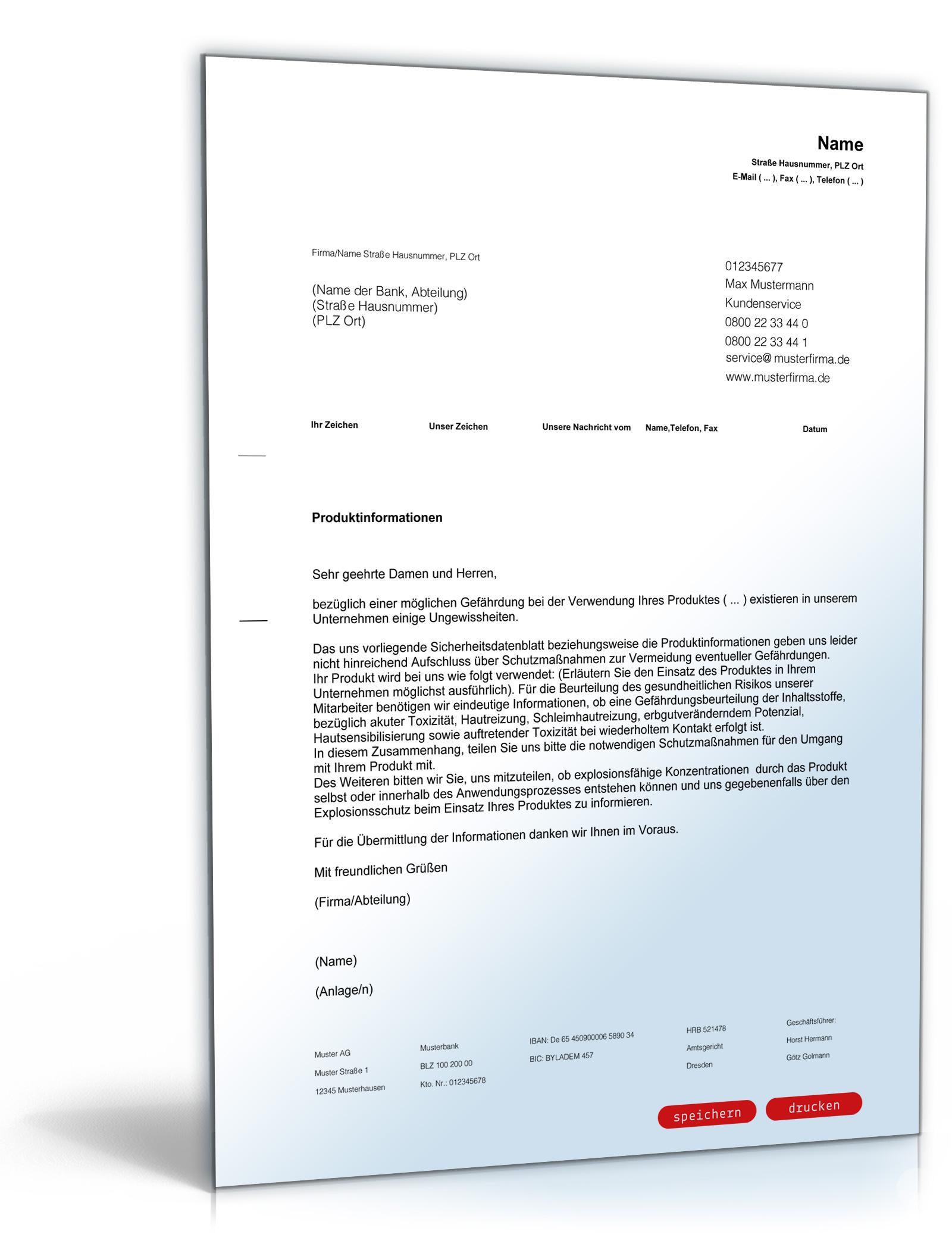 Download Archiv Geschäftsbriefe Dokumente Vorlagen