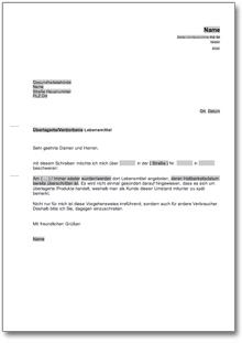 Beschwerde Bei Einer Gesundheitsbehörde At Musterbrief Download