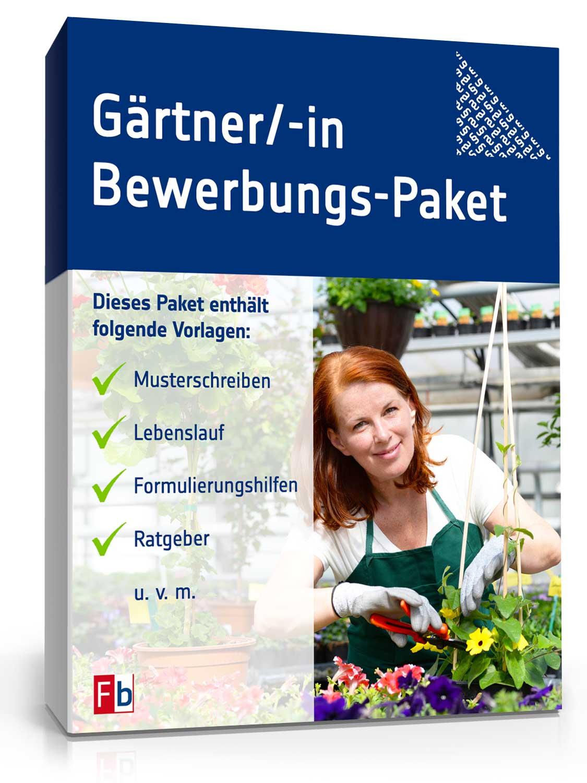 Gärtner/ Gärtnerin Bewerbungs-Paket Dokument zum Download