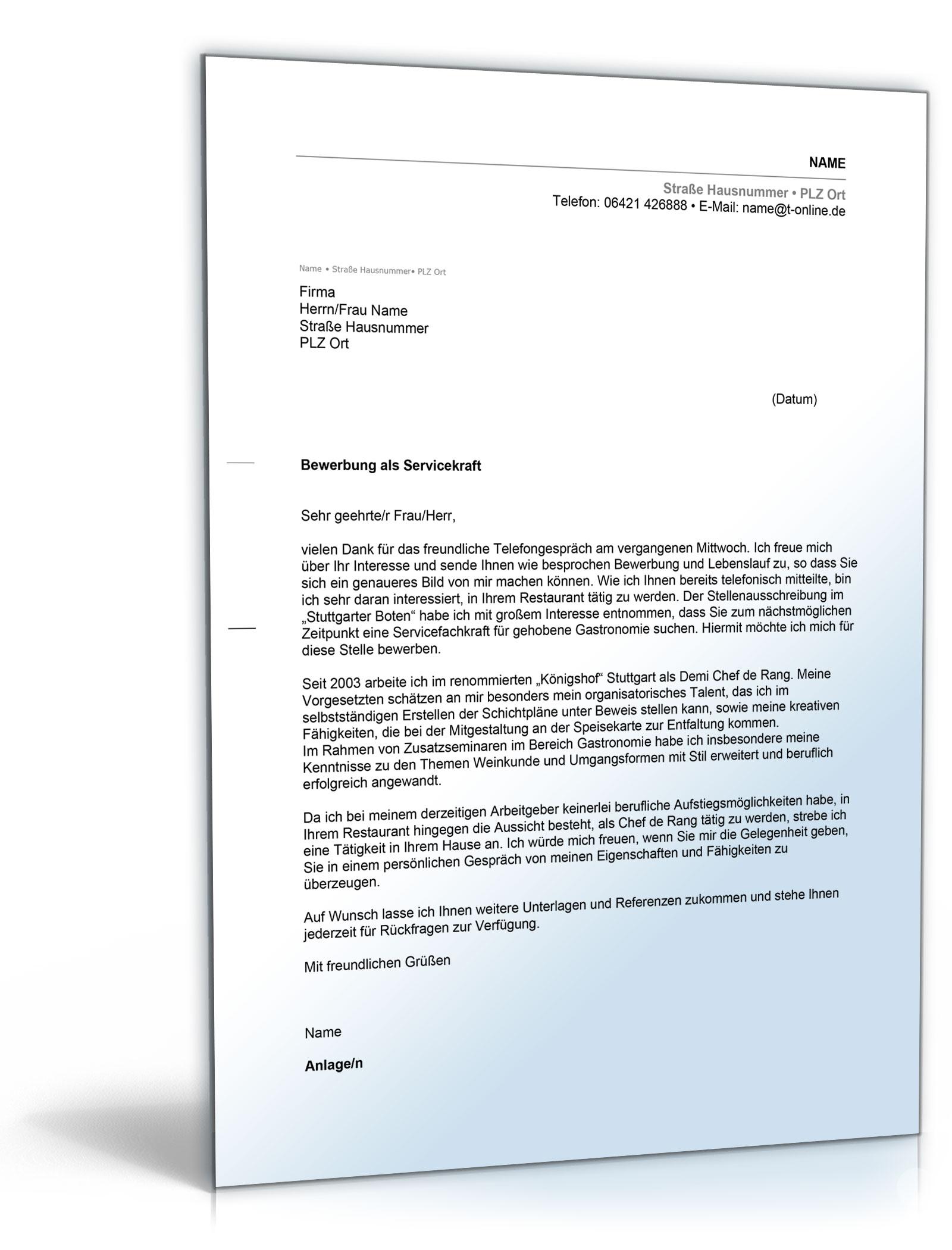 Basic Musterbrief Anschreiben Unterlagen Wiring Library