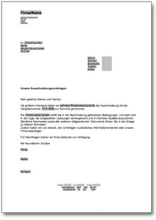 Auftragsbestätigung An Einen Kunden De Musterbrief Download